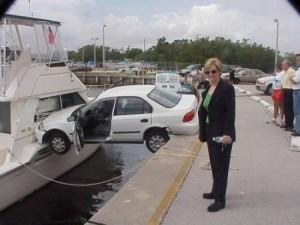 auto avarija