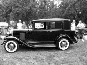 senovinis automobilis